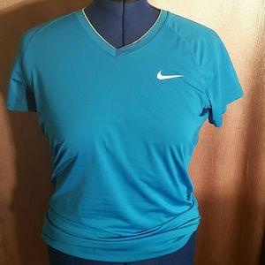 Nike Pro Blue Blouse. XL